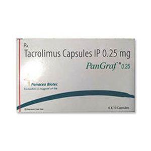 Pangraf Tacrolimus 0.25mg Capsule