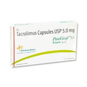 Pangraf Tacrolimus 5mg Capsule