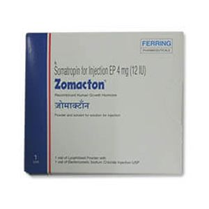 Zomacton Somatropin 4mg Injection