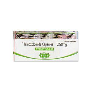 Temotec Temozolomide 250mg Capsule