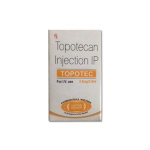 Topotec Topotecan 2.5mg Injection