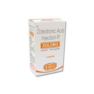 Zoldro Zoledronic Acid 4mg Injection