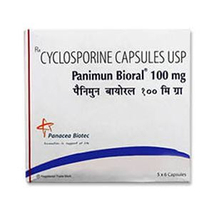 Panimun Bioral Cyclosporine 100mg Capsule