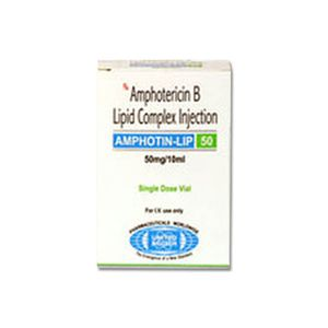 Amphotin-Lip Amphotericin B 50mg Injection