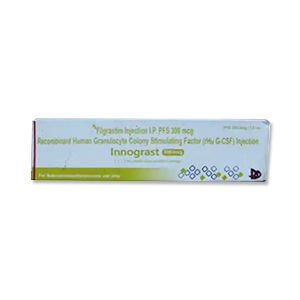 Innograst Filgrastim 300mcg Injection