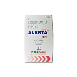 Alerta Ertapenem 1gm Injection