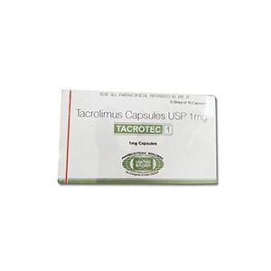Tacrotec Tacrolimus 1mg Capsule