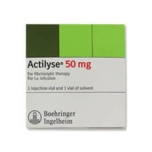 Actilyse Alteplase 50mg Injection