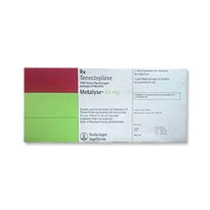 Metalyse Tenectplase 40mg Injection