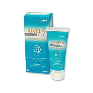 Rivela Dry Touch Sunscreen SPF 30 Gel
