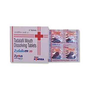 Zydalis MD Tadalafil 20mg Tablet