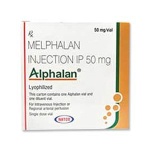 Alphalan Melphalan 50mg Injection