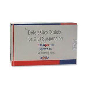 Desifer 100mg Deferasirox Tablet