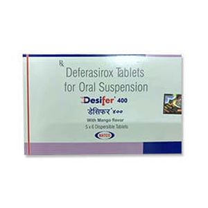Desifer Deferasirox 400mg Tablet