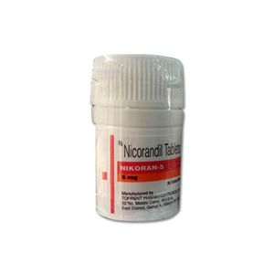 Nikoran Nicorandil 5mg Tablet