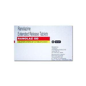 Ranolaz OD Ranolazine 1000mg Tablet