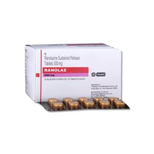 Ranolaz Ranolazine 500mg Tablet