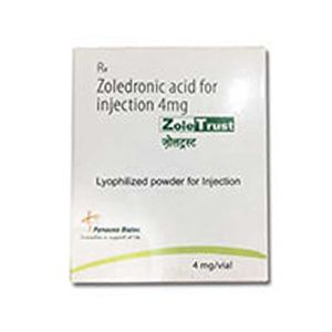 ZoleTrust Zoledronic 4mg Injection