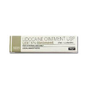 Lox Lidocaine 5% Ointment