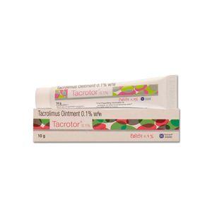 Tacrotor Tacrolimus 0.1% Ointment