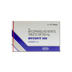 Mycofit Mycophenolate 500mg Tablet