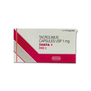 Takfa Tacrolimus 1mg Capsule