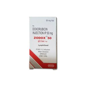 Zodox Doxorubicin 50mg Injection