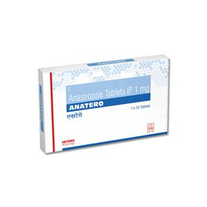 Anatero Anastrozole 1mg Tablet
