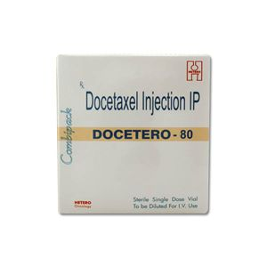 Docetero Docetaxel 80mg Injection