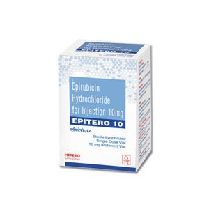Epitero Epirubicin 10mg Injection