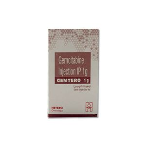 Gemtero Gemcitabine 1gm Injection