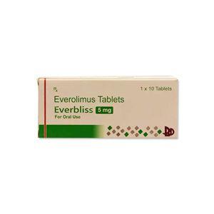 Everbliss Everolimus 5mg Tablet