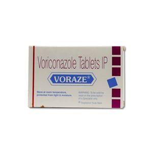 Voraze Voriconazole 200mg Tablet