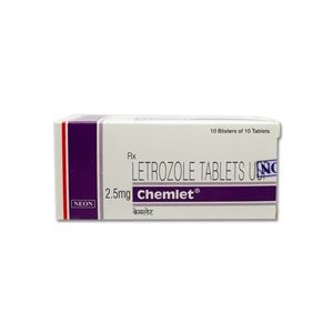 Chemlet Letrozole 2.5mg Tablet