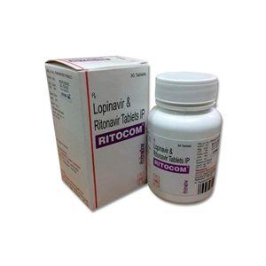 Ritocom Lopinavir & Ritonavir Tablet