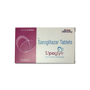 Lipaglyn Saroglitazar 4mg Tablet