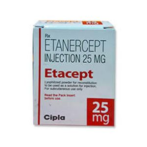 Etacept Etanercept 25mg Injection
