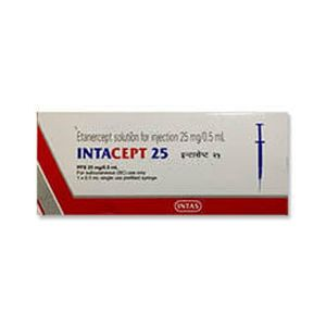 Intacept Etanercept 25mg Injection
