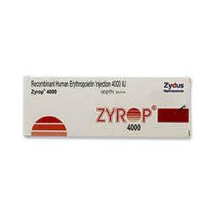 Zyrop 4000 I.U促红细胞生成素阿尔法注射液