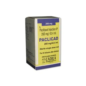 Paclicad Paclitaxel 260mg Injection