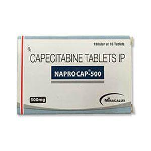 Naprocap Capecitabine 500mg Tablet