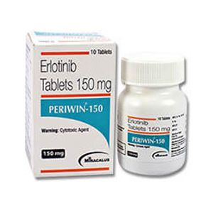 Periwin Erlotinib 150mg Tablet