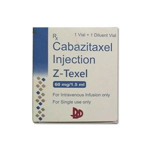 Z-Texel Cabazitaxel 60gm/1.5ml Injection