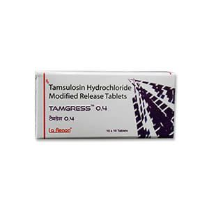 Tamgress Tamsulosin 0.4mg Tablet
