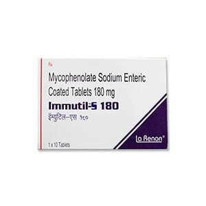 Immutil-S Mycophenolic 180mg Tablet