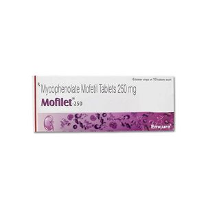 Mofilet Mycophenolate 250mg Tablet