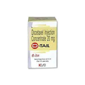 D-Tail 20mg多西他赛注射液