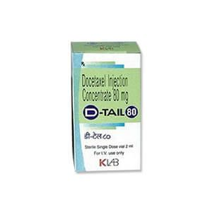 D-Tail Docetaxel 80mg Injection