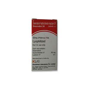 Doxorubin Doxorubicin 50mg Injection