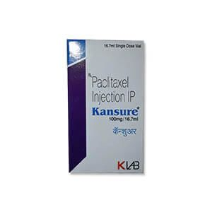 Kansure Paclitaxel 100mg Injection